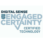 Digital Sense Engaged Certainty Certified Technology - logo